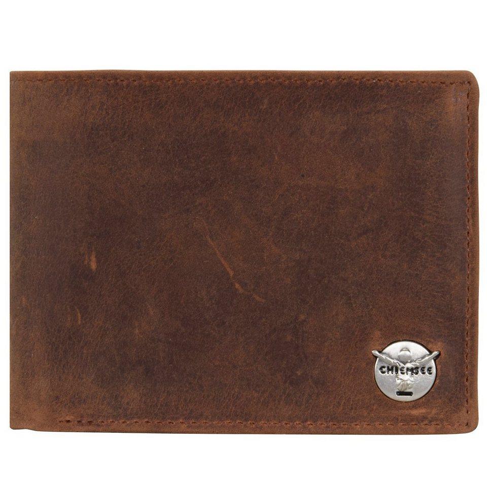 Chiemsee Mario Geldbörse Leder 12,5 cm in cognac