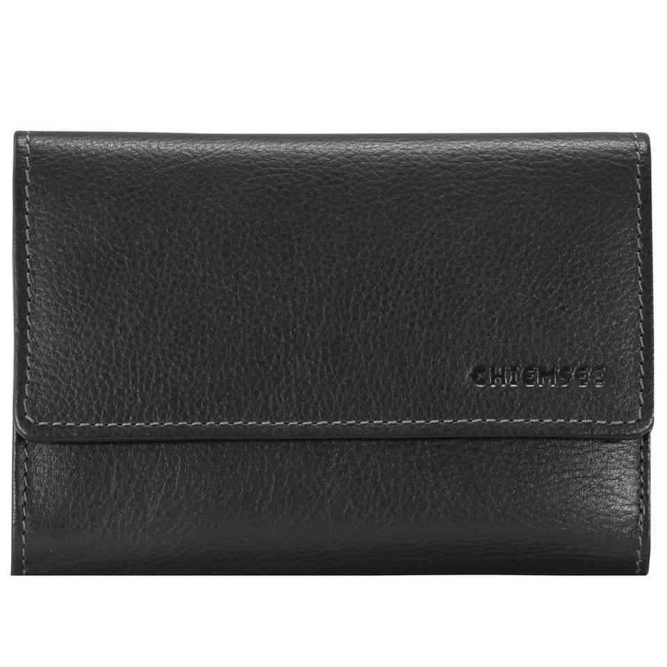 Chiemsee Vermentino Geldbörse Leder 14,7 cm in black