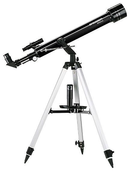 BRESSER Teleskop »BRESSER Arcturus 60/700 AZ - Linsenteleskop«