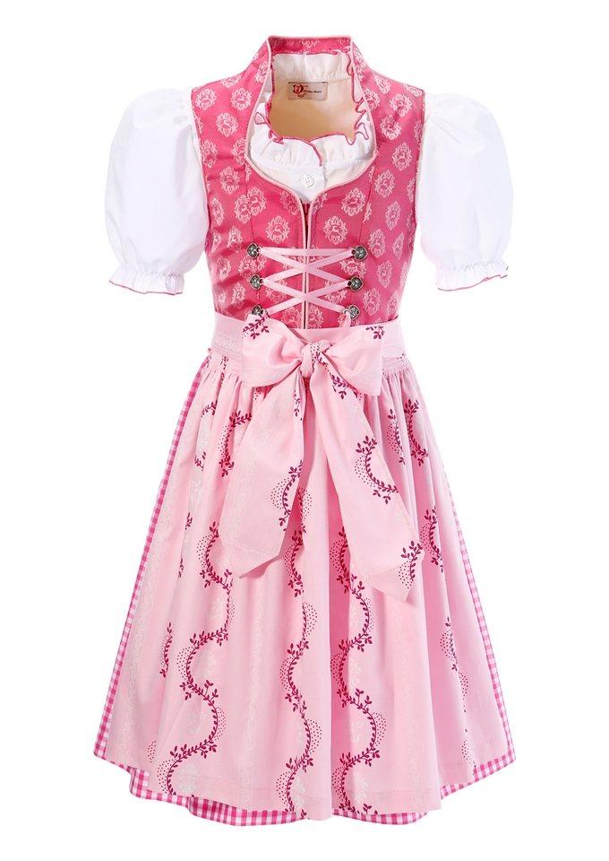 Kinderdirndl, Turi Landhaus (3tlg.) in pink/rosa