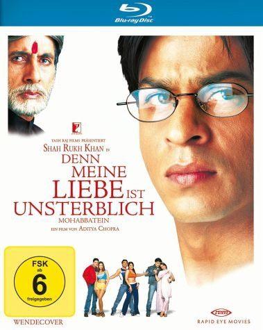 Blu-ray »Mohabbatein - Denn meine Liebe ist unsterblich«