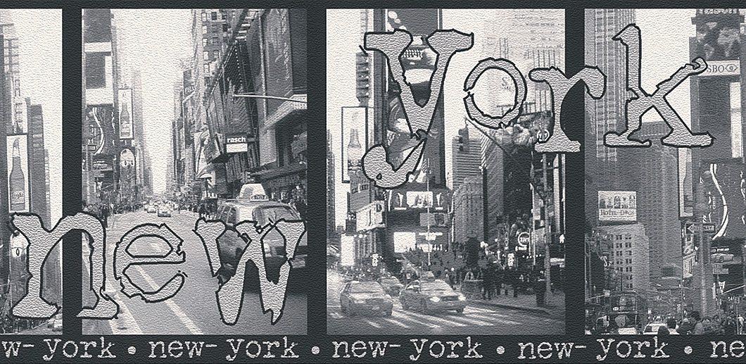 Bordüre, Rasch, »New York«