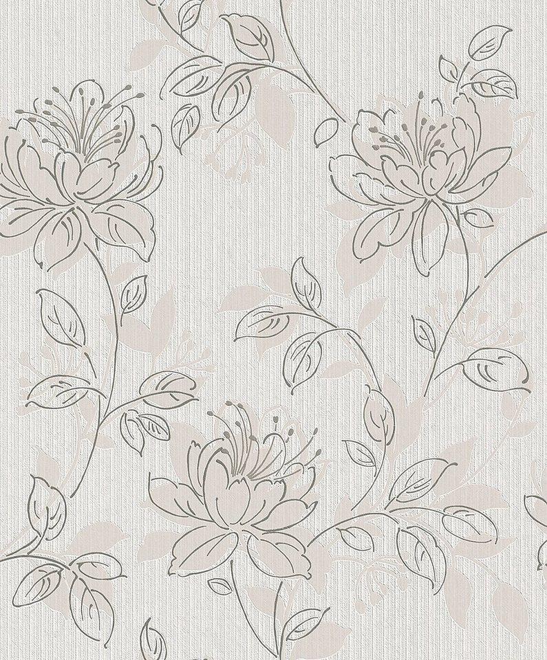 Vliestapete, Rasch, »Home Dream 3« in weiß, braun