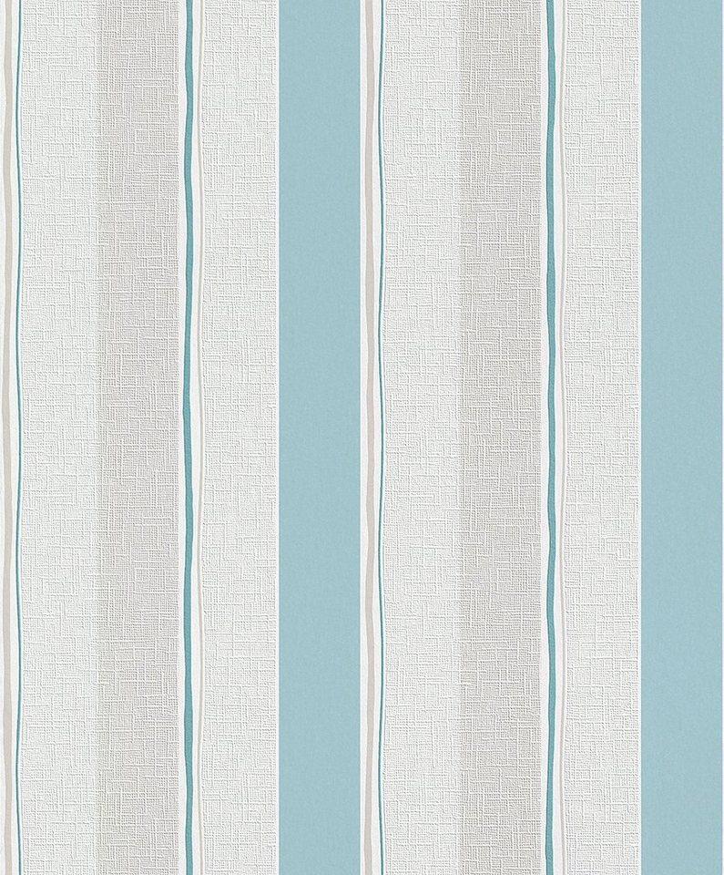 Vliestapete, Rasch, »Home Vision 2« in weiß, blau, beige