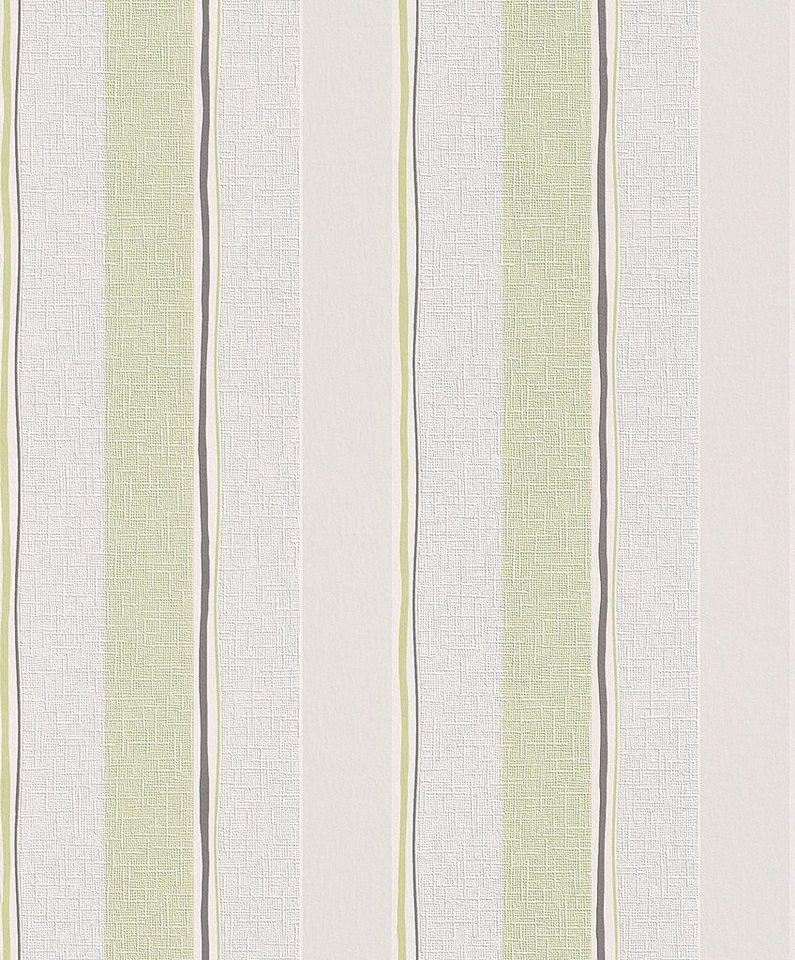 Vliestapete, Rasch, »Home Vision 2« in weiß, grün, braun