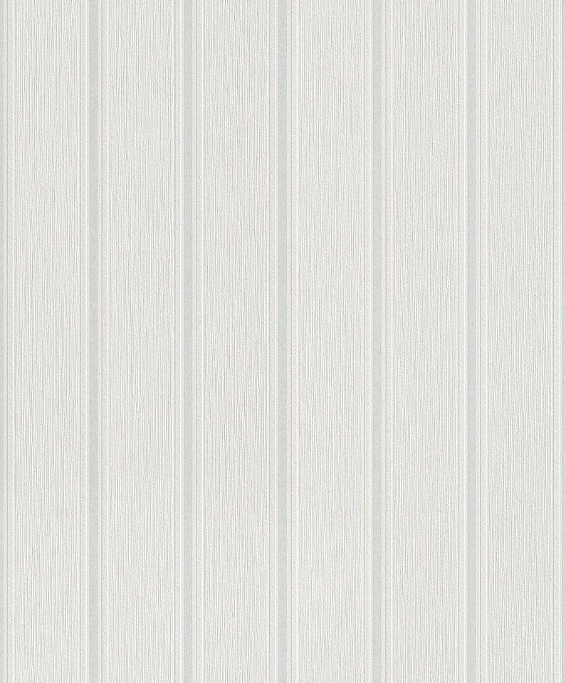 Vliestapete, Rasch, »Graffito 2« in weiß, grau