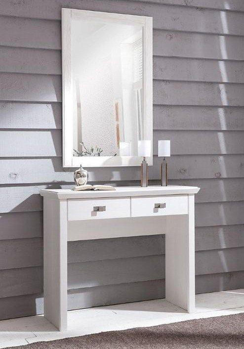 Schminktisch, Premium collection by home affaire, »Casa« in weiß gebürstet