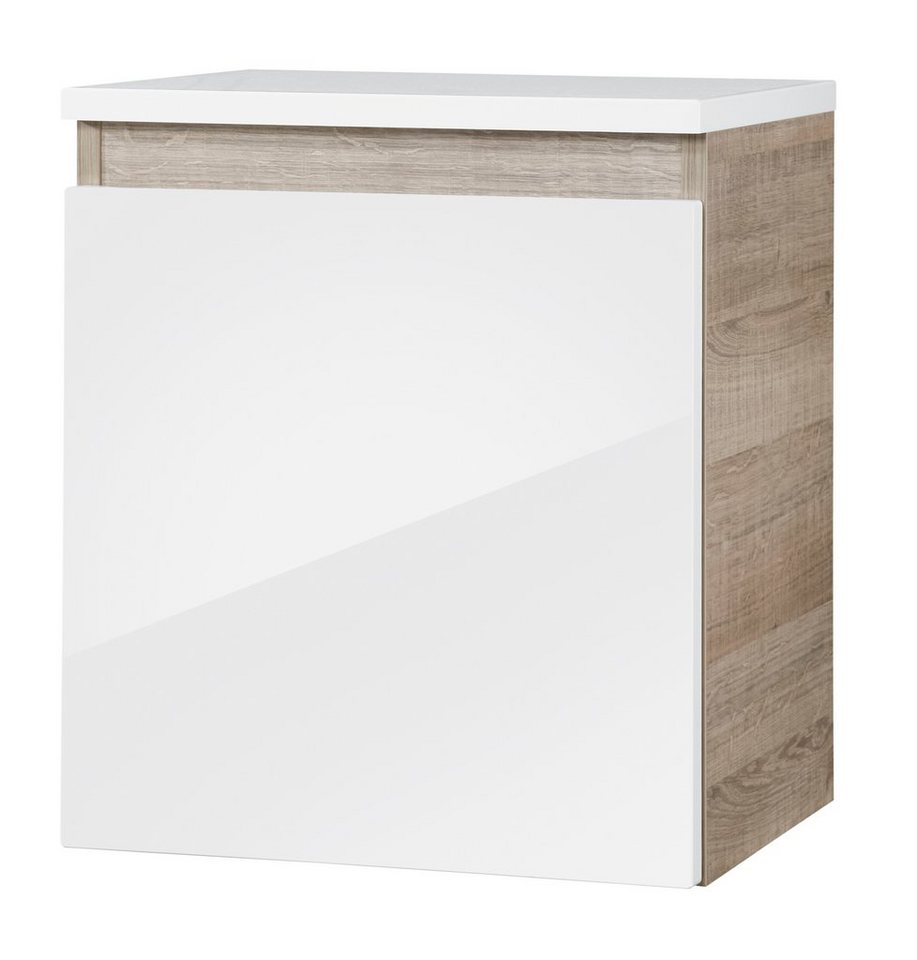 Unterschrank »Piuro«, Breite 40,5 cm in eichefarben/weiß