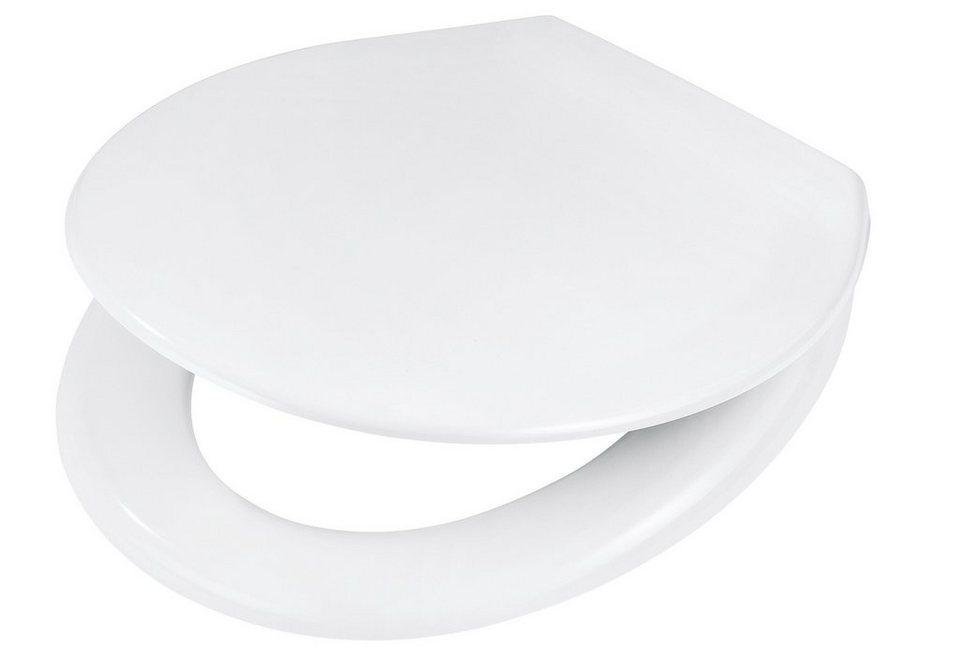WC-Sitz »Tarox«, Mit Absenkautomatik in weiß