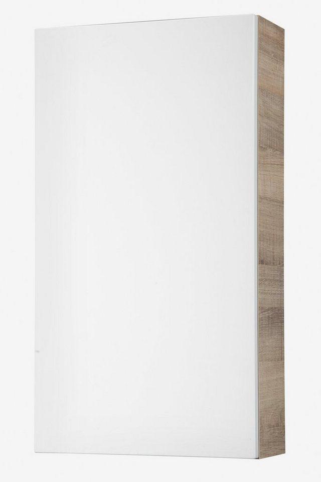 Hängeschrank »Piuro«, Breite 40 cm in eichefarben/weiß