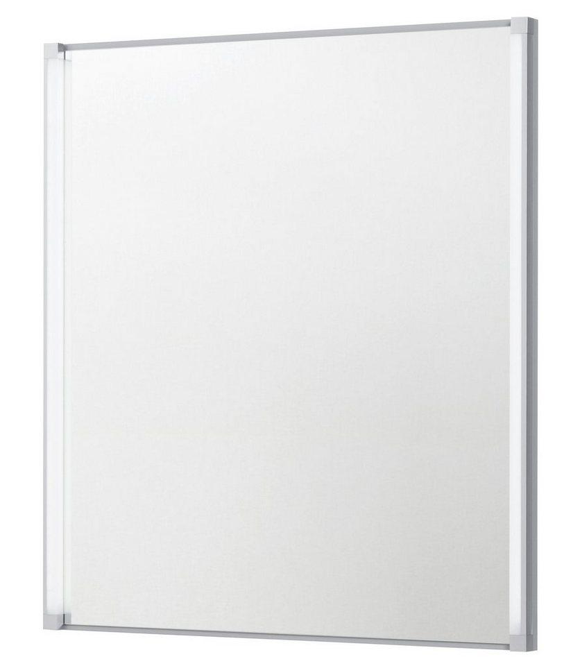 Spiegel »LED-LINE« Breite 60,5 cm, mit LED-Beleuchtung in silbergrau x silberfarben