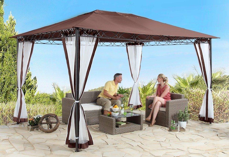 seitenteile f r pavillon stil cappucino 2 st ck online kaufen otto. Black Bedroom Furniture Sets. Home Design Ideas