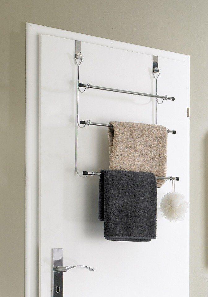 Handtuchhalter in silberfarben