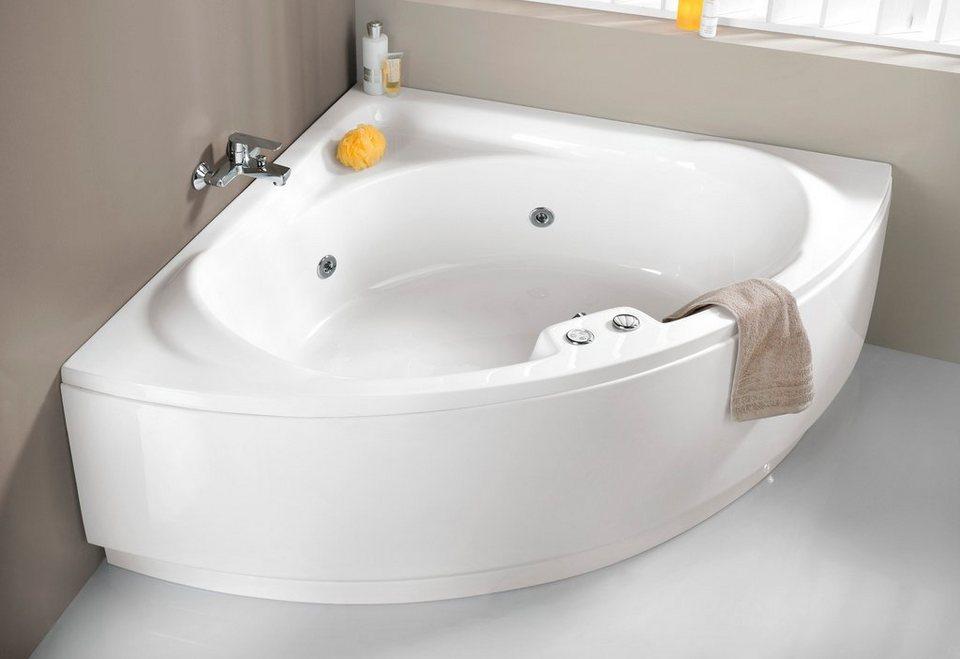 eckwanne laguna b t h in cm 136 43 59 inkl. Black Bedroom Furniture Sets. Home Design Ideas
