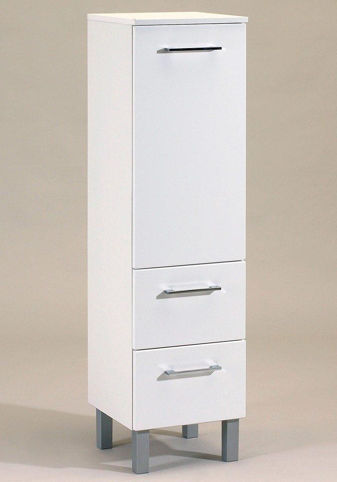Held Möbel Midischrank »Salerno«, Breite 35 cm in weiß