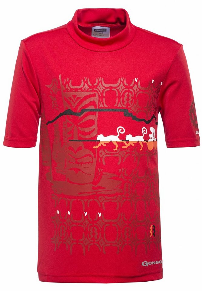 Gonso Kinderbekleidung »Malte Bikeshirt Kinder« in rot