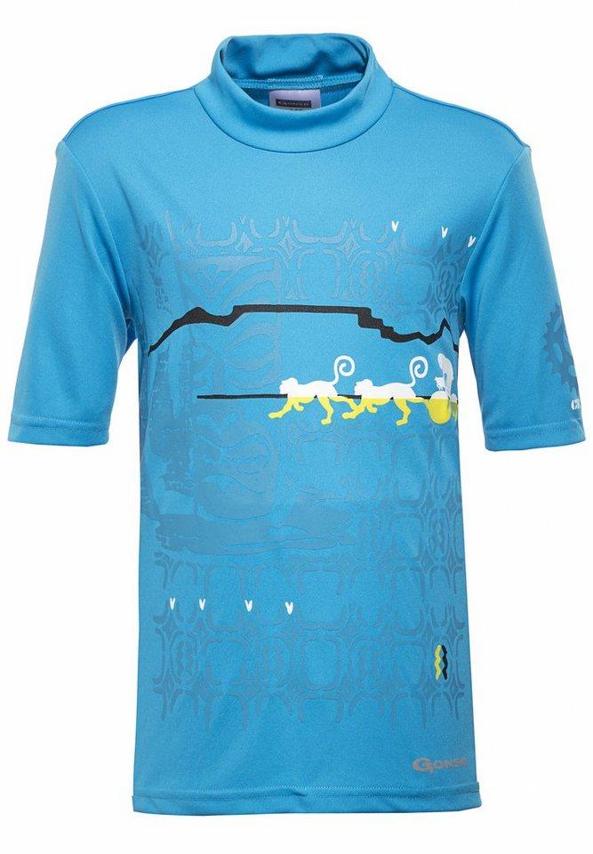 Gonso Kinderbekleidung »Malte Bikeshirt Kinder« in blau
