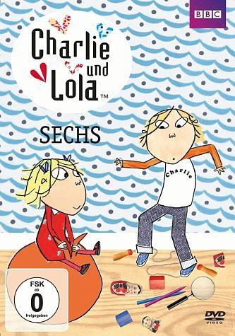 DVD »Charlie und Lola - Sechs«