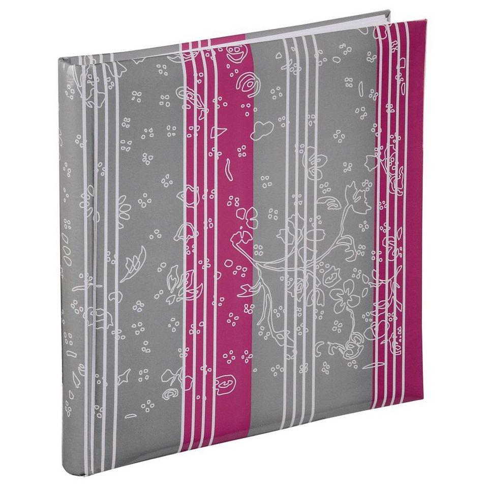 Hama XL-Album Curly, 30x30 cm, 60 weiße Seiten, Drachenfrucht in Grau