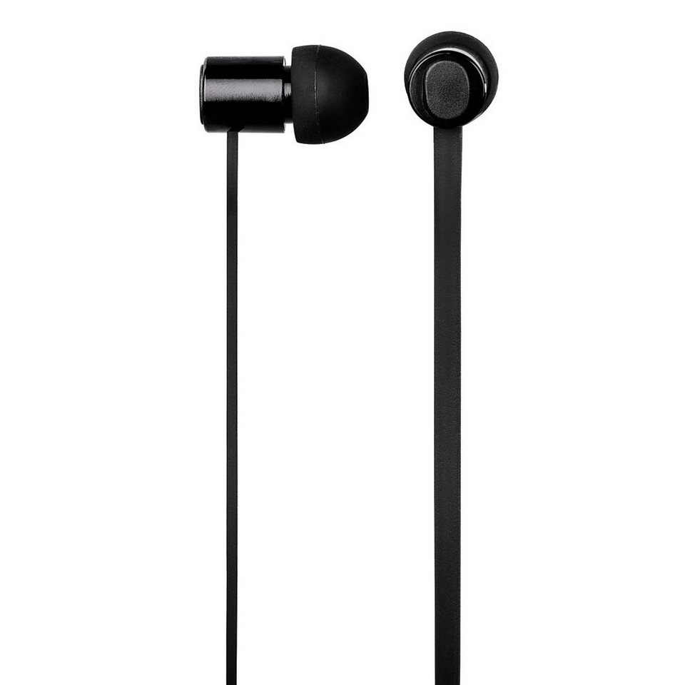 Hama Mobile Headset Pro, Schwarz in Schwarz