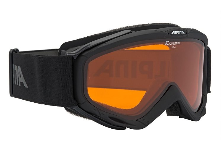 Skibrille schwarz, Alpina, »SPICE«, Made in Germany