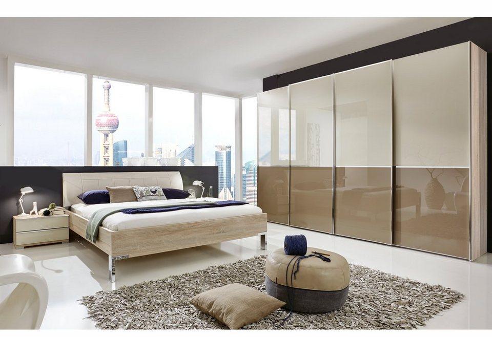 wiemann schlafzimmer set shanghai 4 tlg mit 2. Black Bedroom Furniture Sets. Home Design Ideas