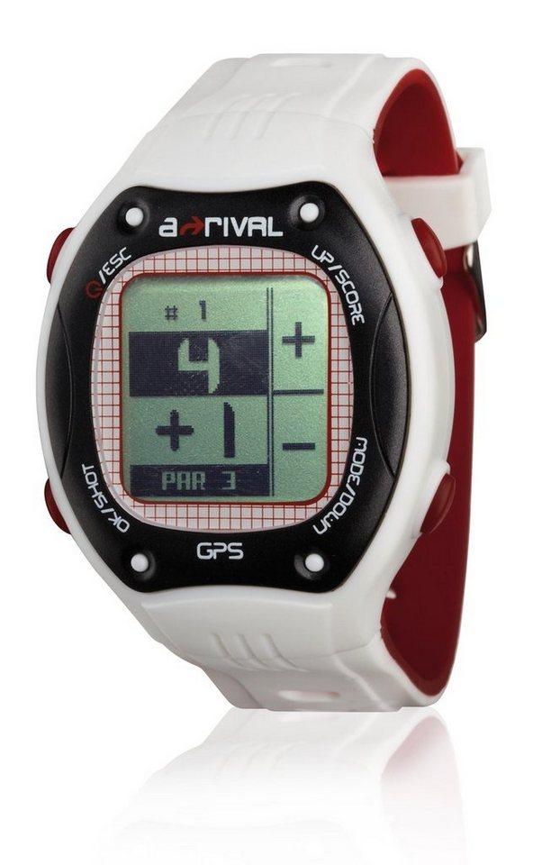 a-rival GPS Golfuhr »Qaddy« in Weiß