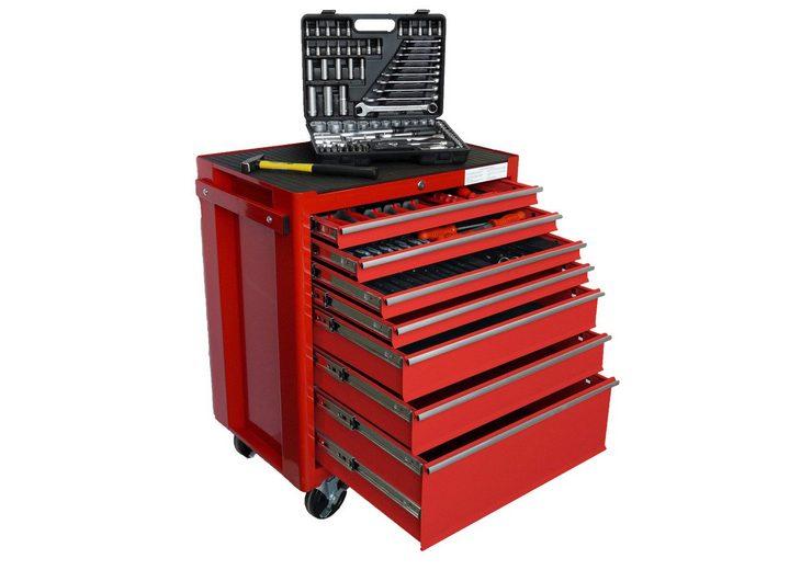 Werkstattwagen mit umfangreicher Werkzeugbestückung »FAMEX 843-40«