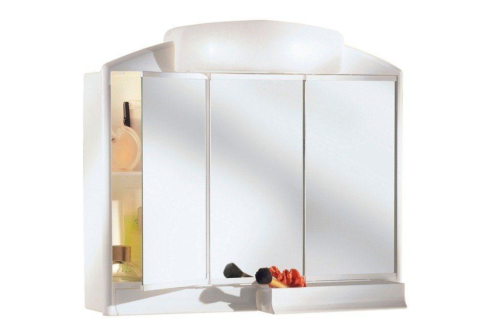 Spiegelschrank »Rando« Breite 59 cm, mit Beleuchtung in weiß
