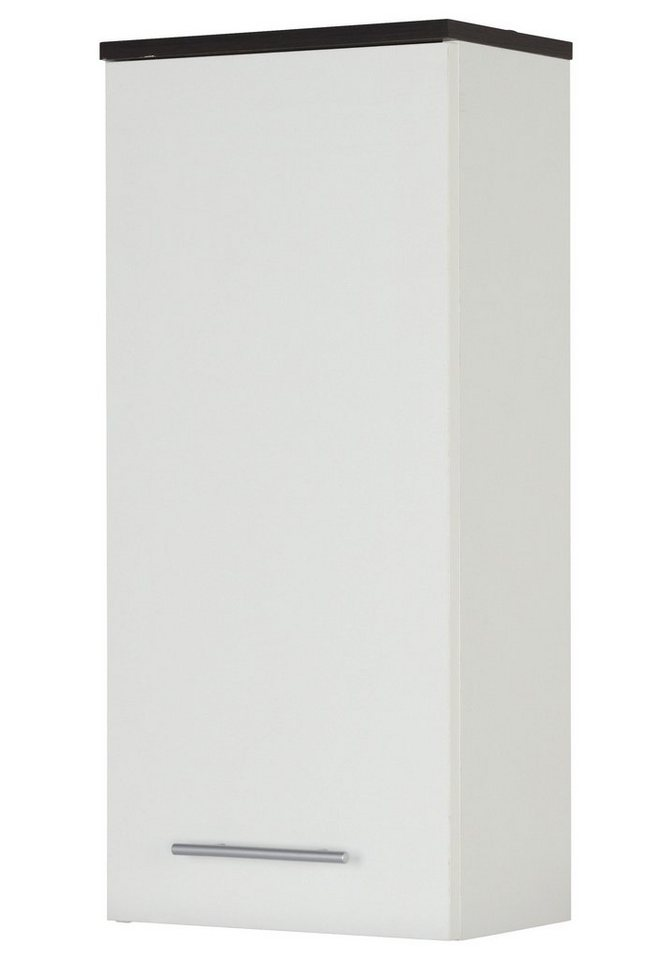 Hängeschrank »Sevilla« in weiß/wengefarben