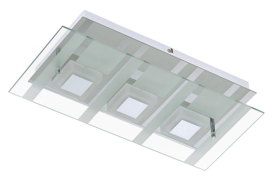 LED Wand-/Deckenleuchte »Dado«, 5W in silberfarben