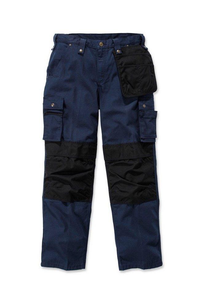 Arbeitshose »Multi Pocket Ripstop Pant« in blau/schwarz