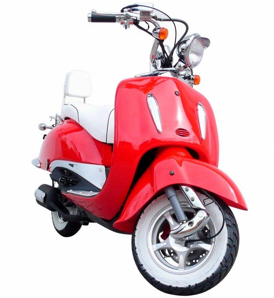 Motorroller »Strada«, 125 ccm, 85 km/h in rot