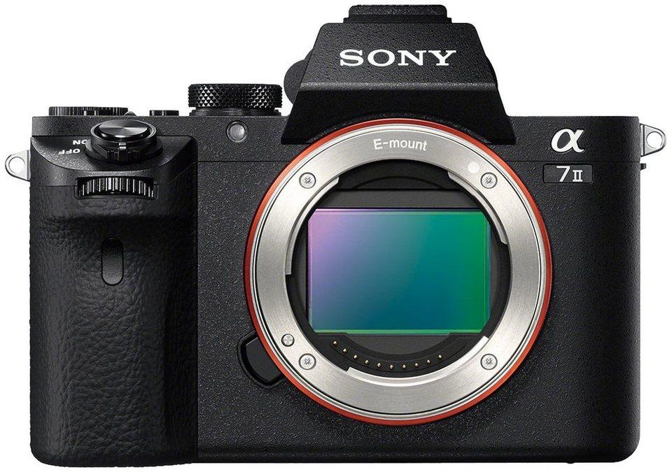 Sony Alpha ILCE-7M2 Body System Kamera, 24,3 Megapixel, 7,5 cm (3 Zoll) Display in schwarz