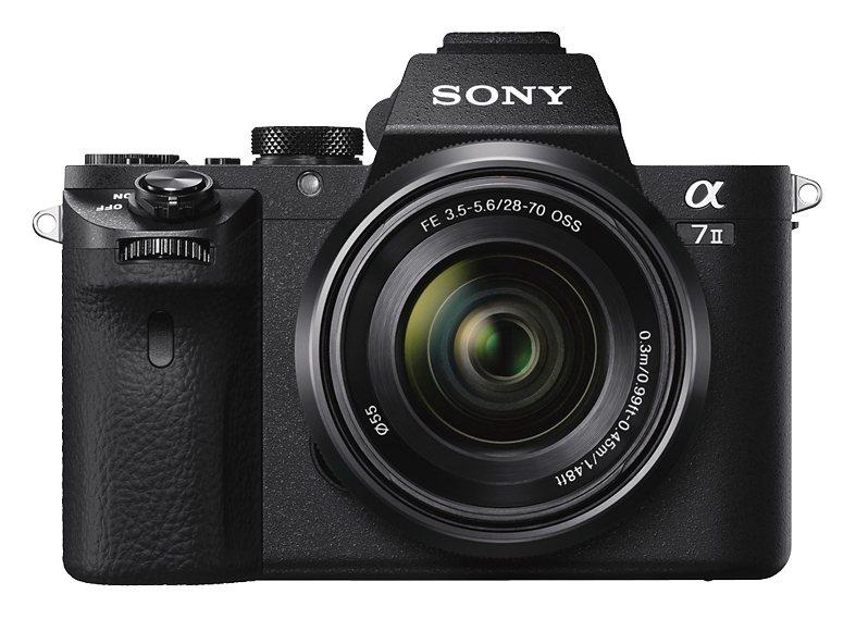 Sony Alpha ILCE-7M2K System Kamera, SEL-2870, 24,3 Megapixel, 7,5 cm (3 Zoll) Display in schwarz