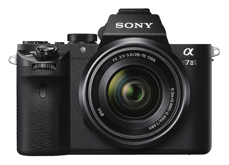 Sony Alpha ILCE-7M2K System Kamera, SEL-2870, 24,3 Megapixel, 7,5 cm (3 Zoll) Display