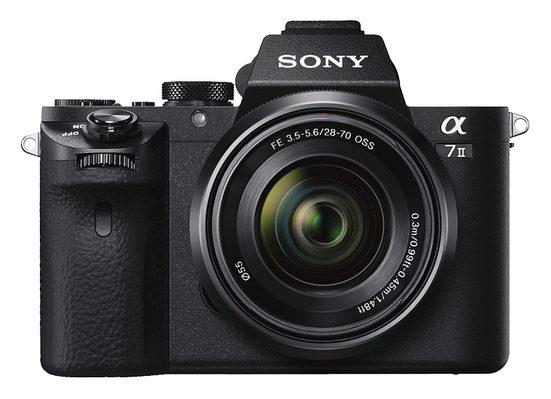 Sony »Alpha ILCE-7M2K« Systemkamera (SEL-2870, 24,3 MP, WLAN (Wi-Fi), NFC, Gesichtserkennung, HDR-Aufnahme, Makroaufnahme)