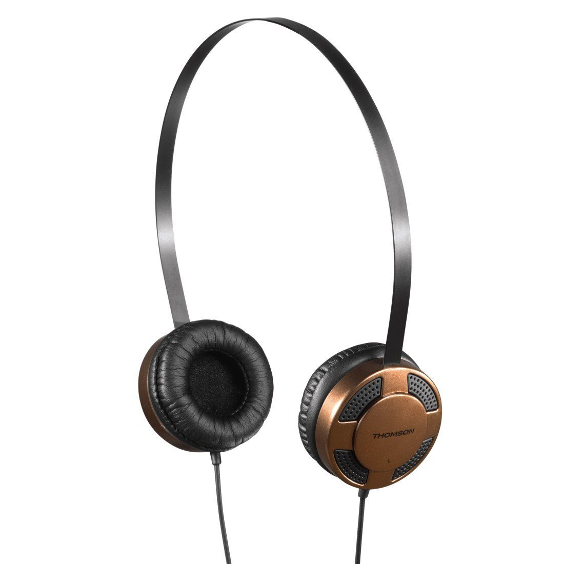 Thomson HED1123BR/BK Stereo-Kopfhörer, Braun/Schwarz