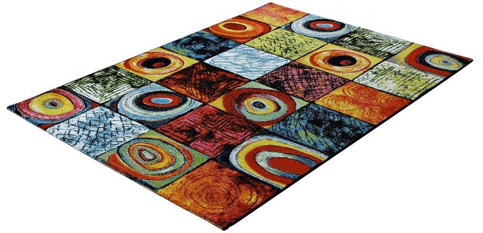 Teppich »PRIME 217«, Trend teppiche in schwarz