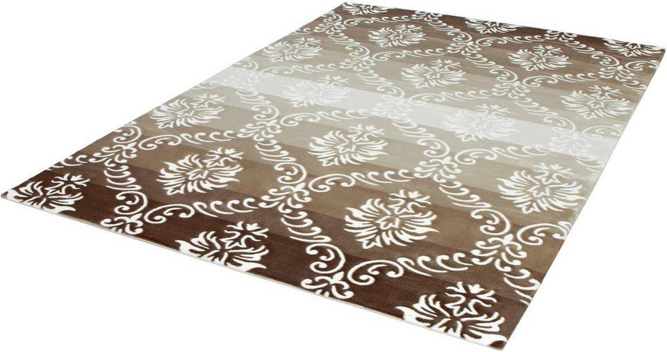 Teppich, angora HALI, »NIRVANA 3103«, handgearbeitet in beige