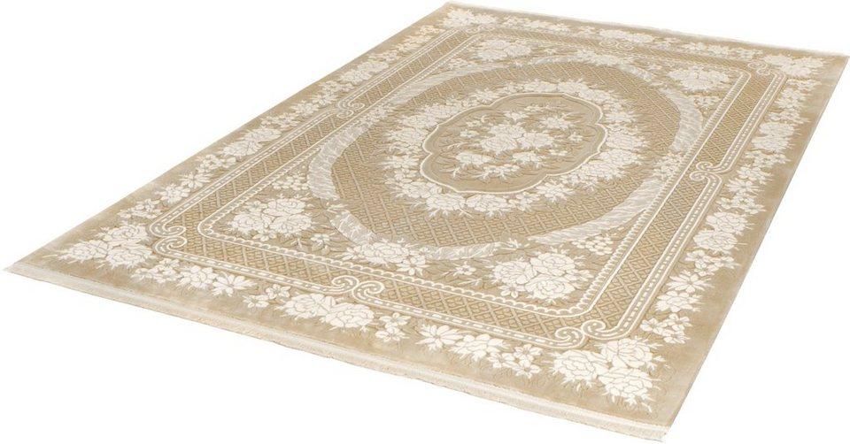Teppich, angora HALI, »EVEREST 3329«, handgearbeitet in beige
