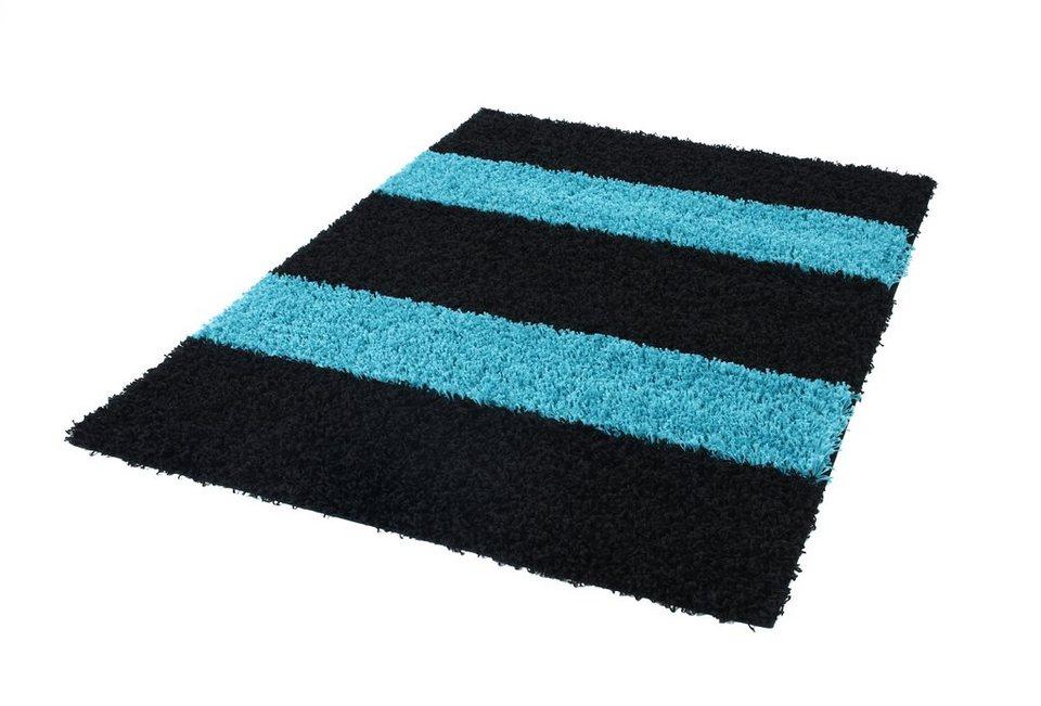 hochflor teppich milo stripe 1010 h he 45 mm trend teppiche online kaufen otto. Black Bedroom Furniture Sets. Home Design Ideas