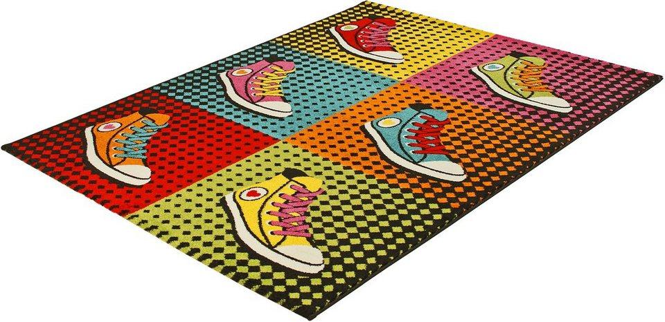 Teppich »PRIME 208«, Trend teppiche in multi