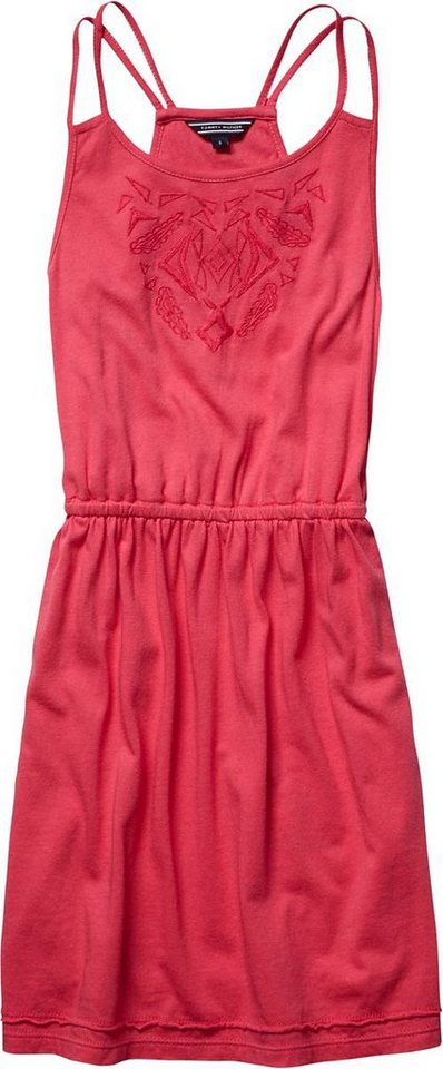 Tommy Hilfiger Kleider »CARMEN KNIT DRESS SLVLS« in RASPBERRY SORBET