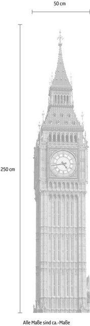 Komar Vlies-Fototapete Big Ben, 50 x 250 cm / 1-tlg.