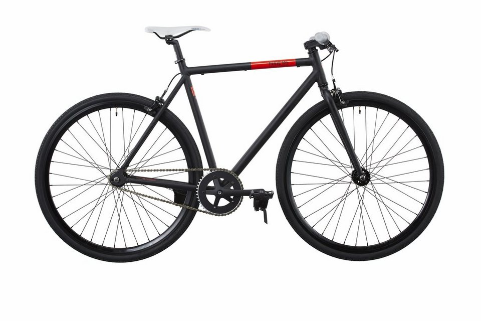 FIXIE Inc. Fahrrad »Backspin black« in schwarz