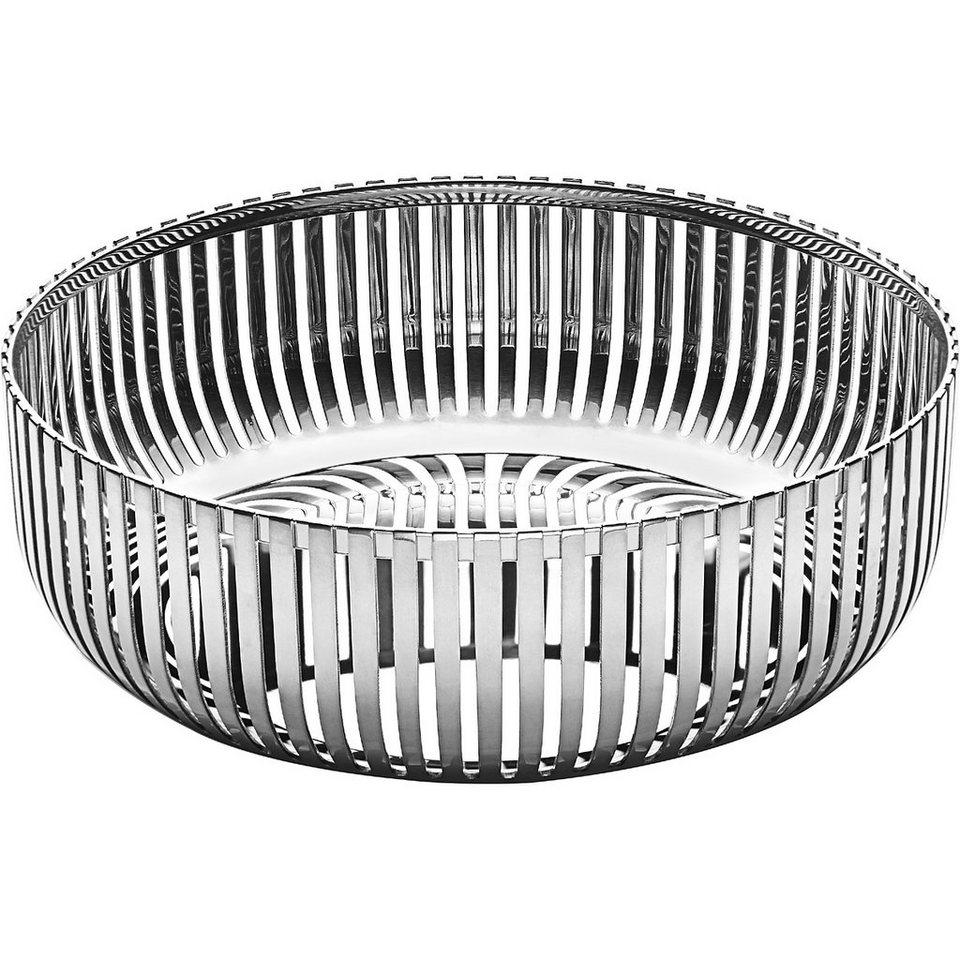 Alessi Alessi Korbschale 15 cm Edelstahl poliert in Silber