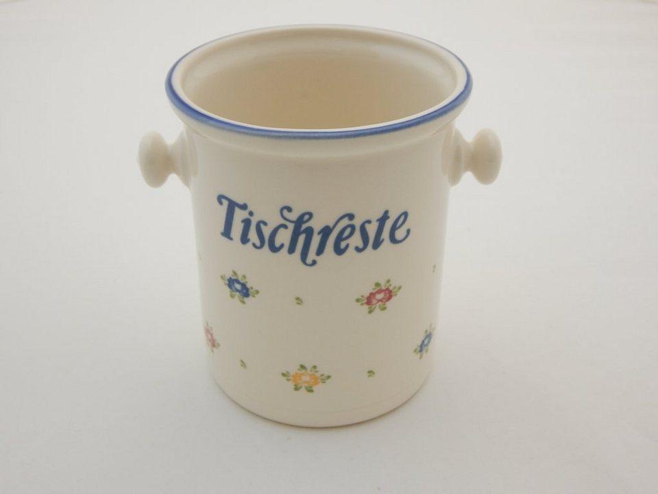 Zeller Keramik Tischrestebehälter »Petite Rose« in Mehrfarbig