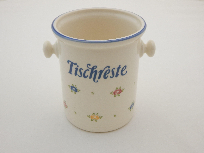 Zeller Keramik Tischrestebehälter »Petite Rose«