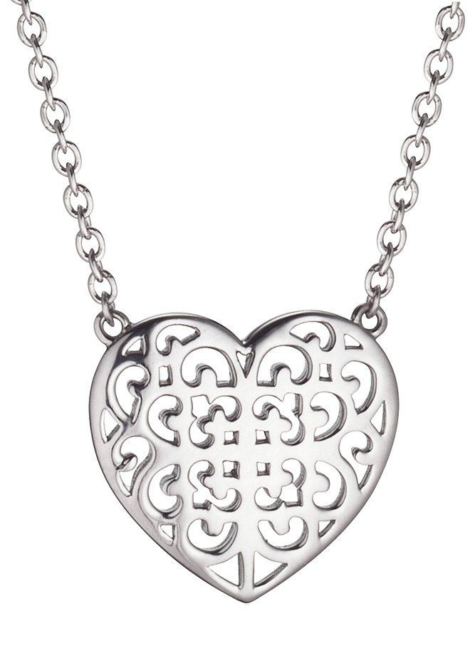 Kette, »Ornament Herz, ERN-ORNAHEART«, Engelsrufer